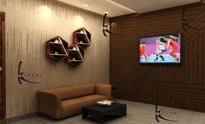 Corporate Office Interior Design 01