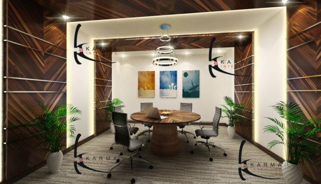 Corporate Office Interior Design 04