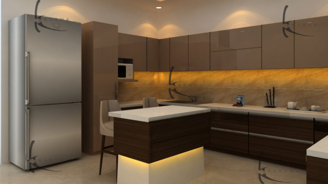 Modular Kitchens Designs 10