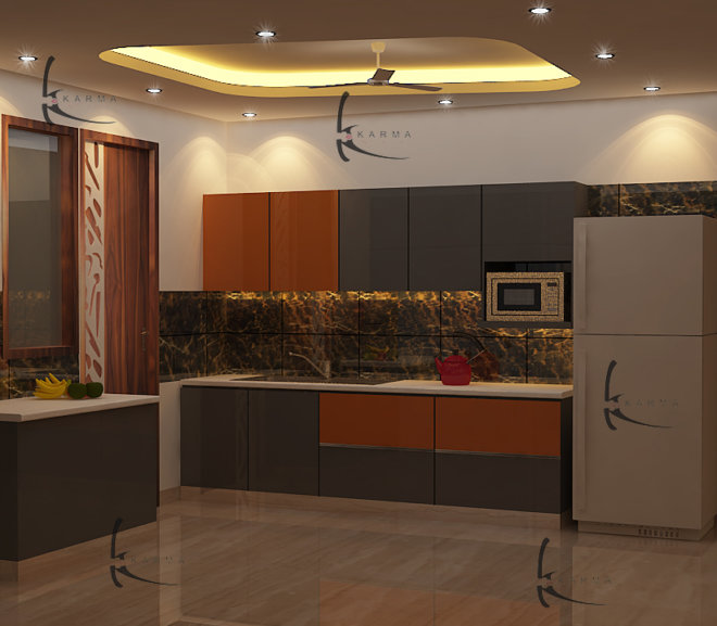 Modular Kitchens Designs 13