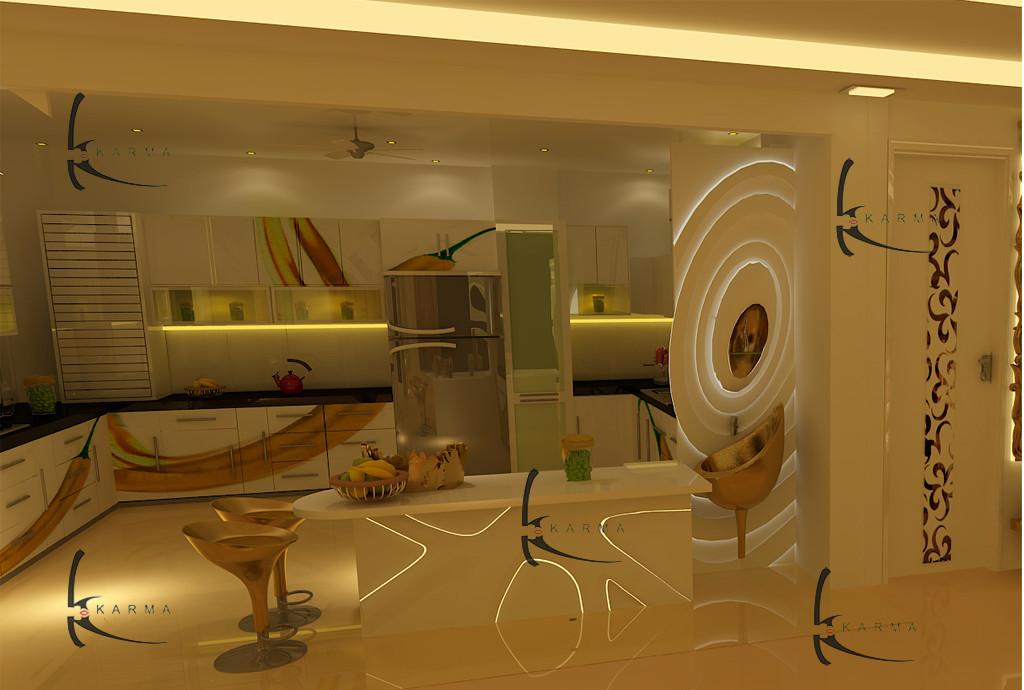 Modular Kitchens Designs 20