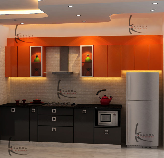 Modular Kitchens Designs 22