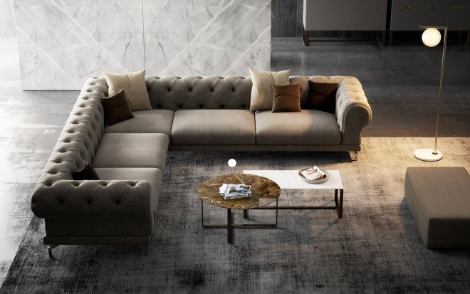 Luxury L Shape Sofa
