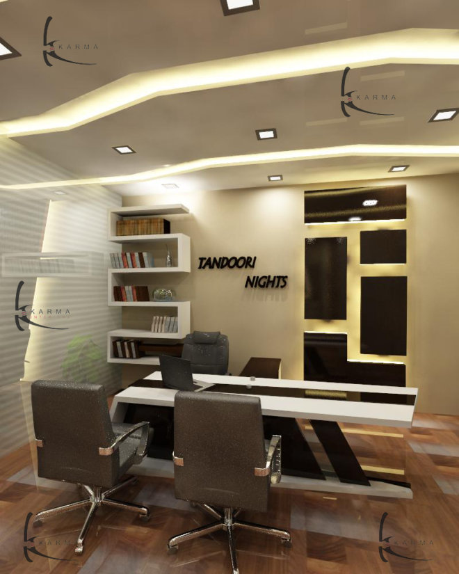 Corporate Office Interior Design 11