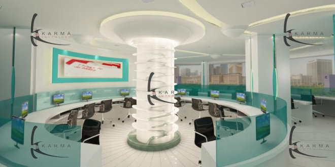 Corporate Office Interior Design 22