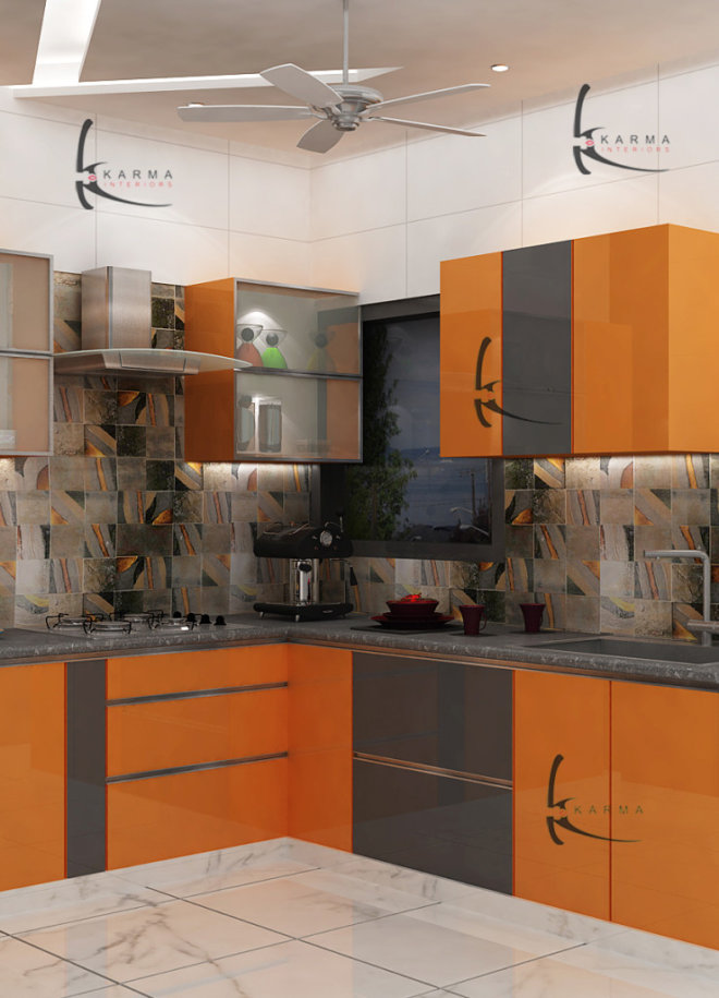Modular Kitchens Designs 12