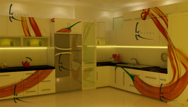 Modular Kitchens Designs 18